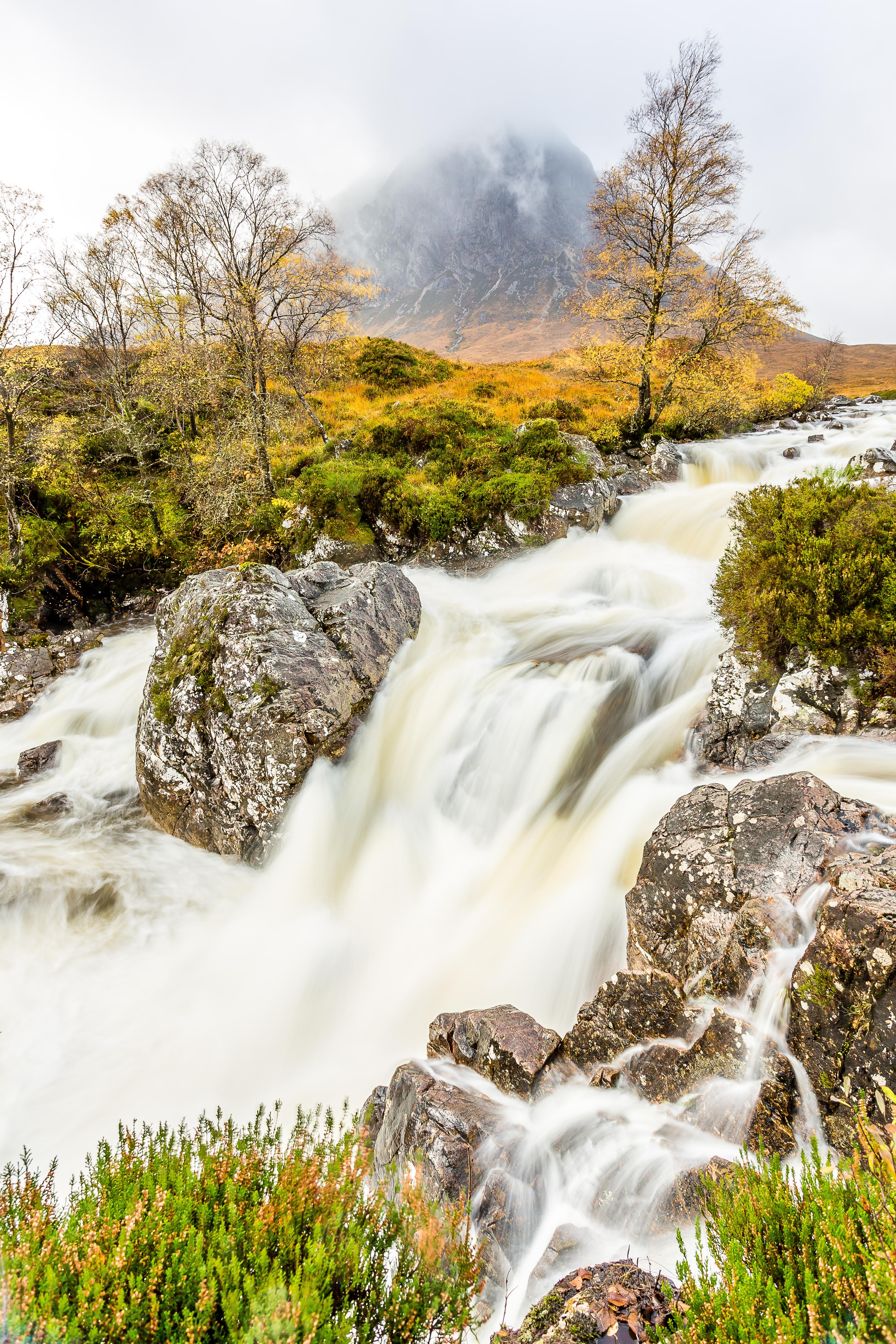 Buchaille Etiv Mòr Waterfalls